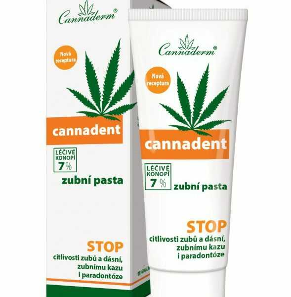 Cannadent pasta do zębów